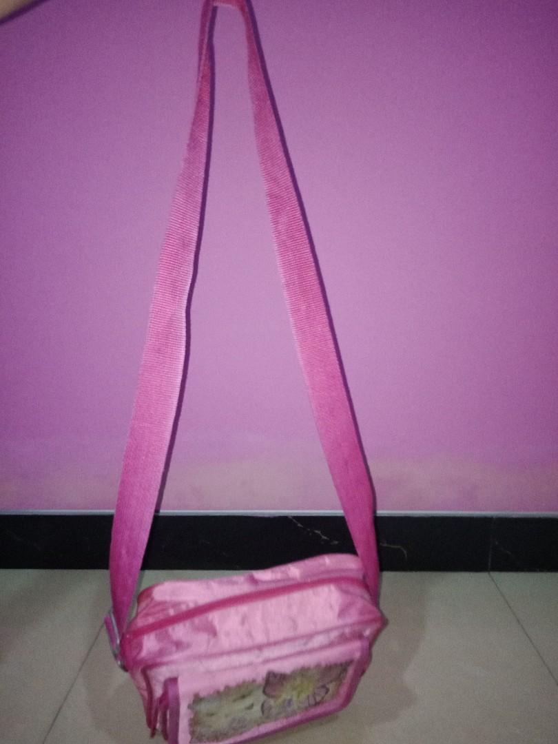 #BAPAU Tas Selempang Anak Barbie Mariposa Pink
