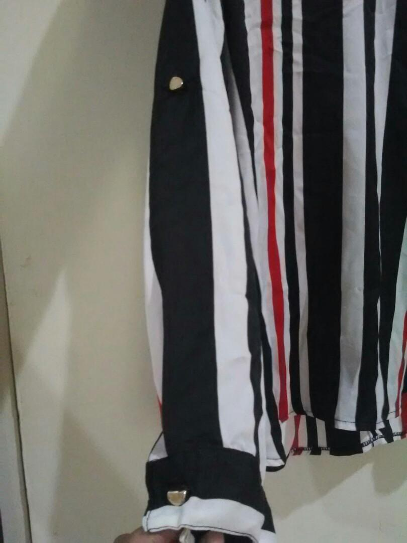 Blouse garis2