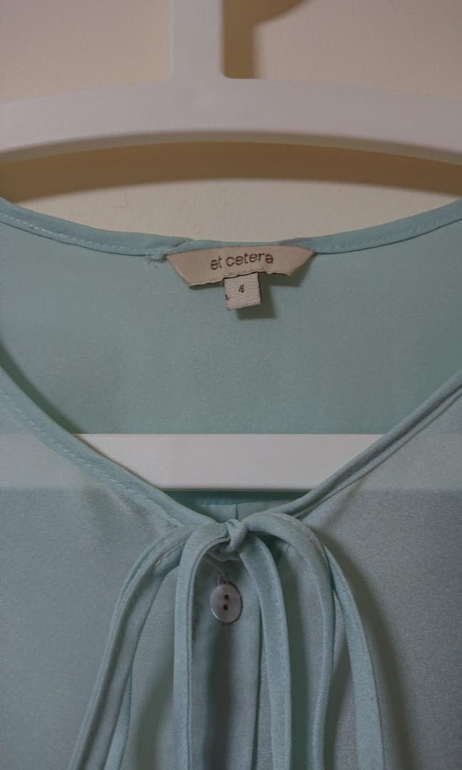 Chifon Blue ocean Tunic with inner lining