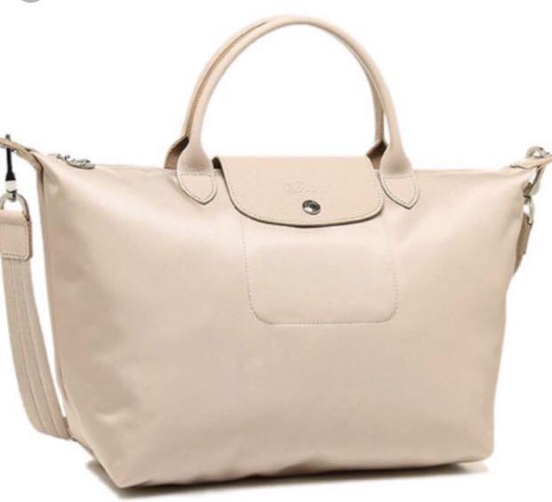01206e6a1 BN 100% Authentic Longchamp Le Pliage Neo medium, Women's Fashion ...