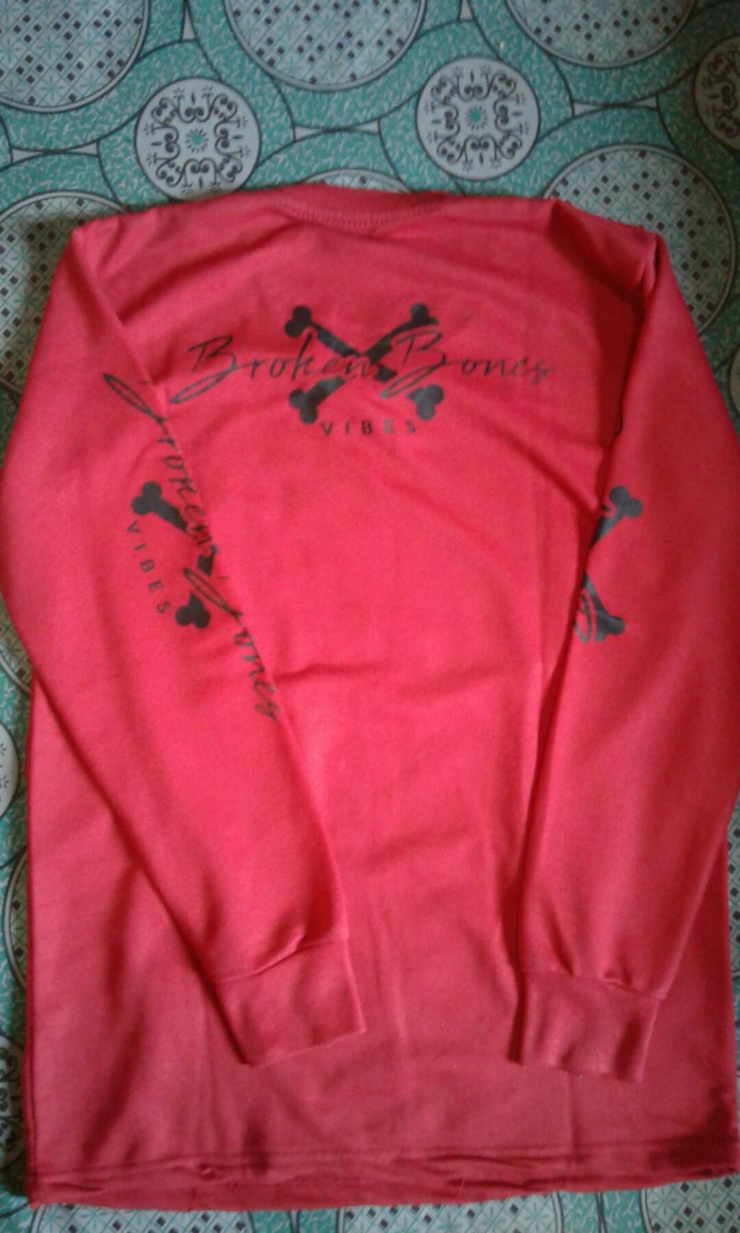 Broken Bones Red Clothes