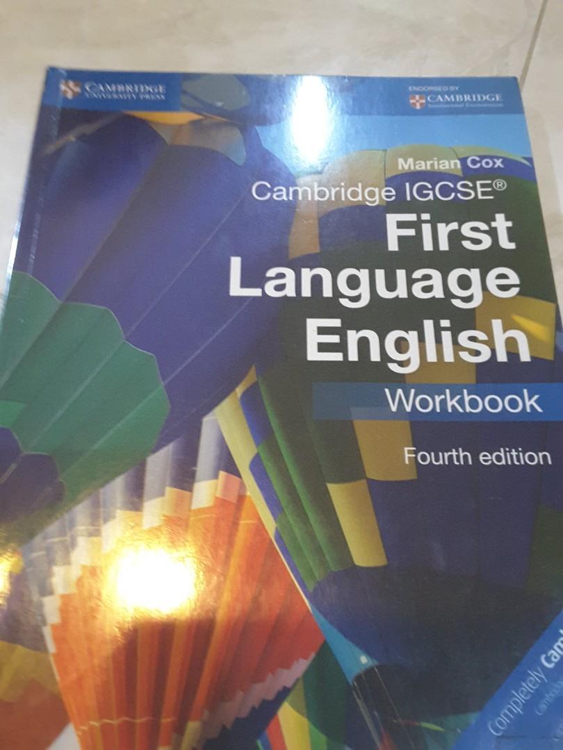 Buku english first language workbook cambridge igcse