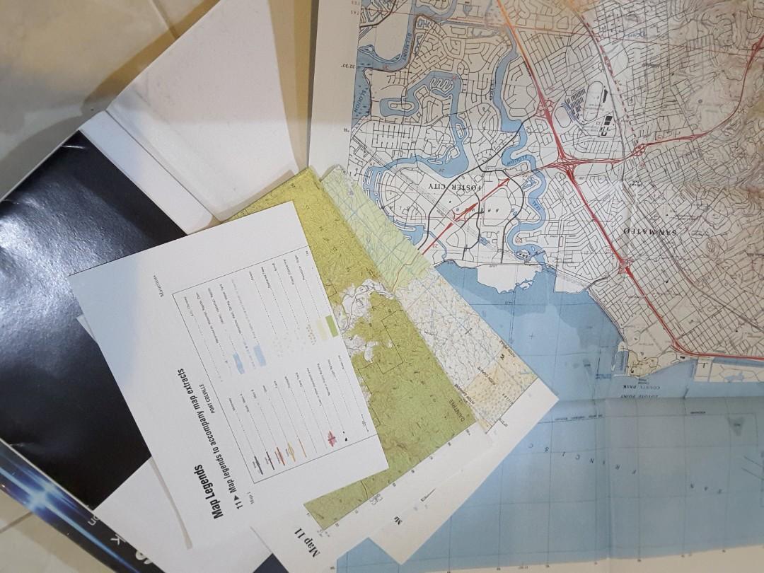 Buku tropical maps map reading cambridge