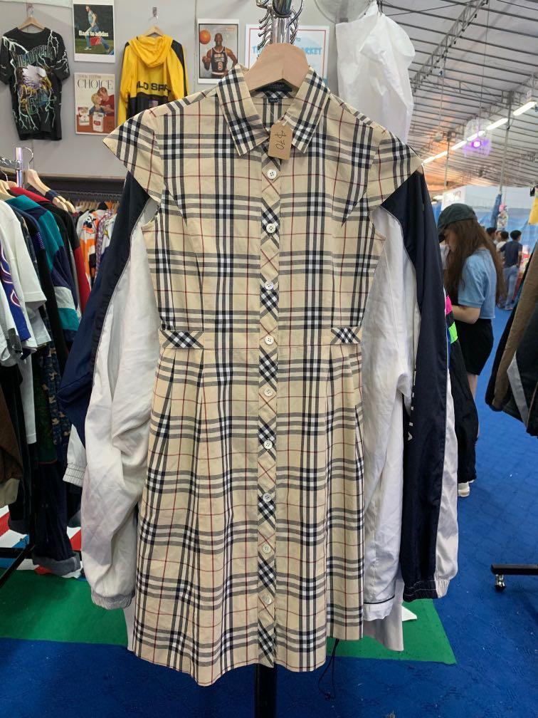 62abf6e688 BURBERRY LONDON NOVA CHECK DRESS, Women's Fashion, Clothes, Dresses ...