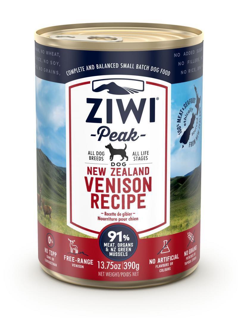 [BUY4GET1FREE]Ziwipeak canned dog food venison high quality