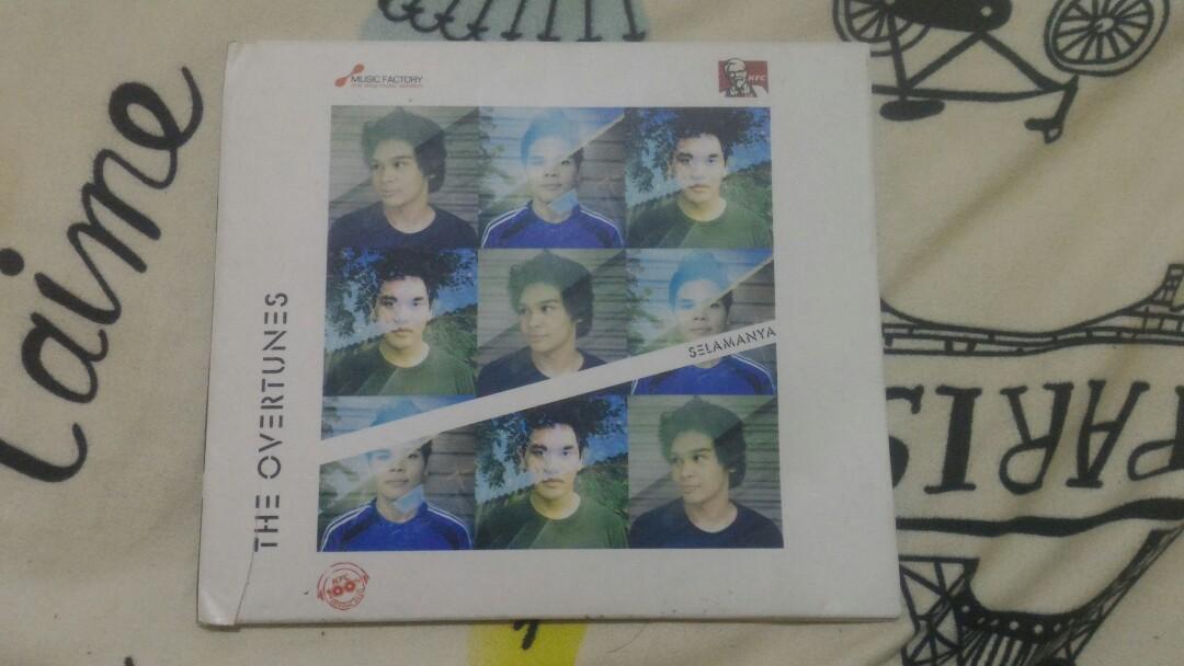 CD/ALBUM THE OVERTUNES SELAMANYA (kfc)