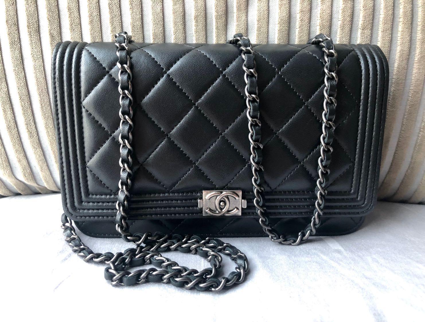 21200ccf Chanel Boy Wallet on Chain