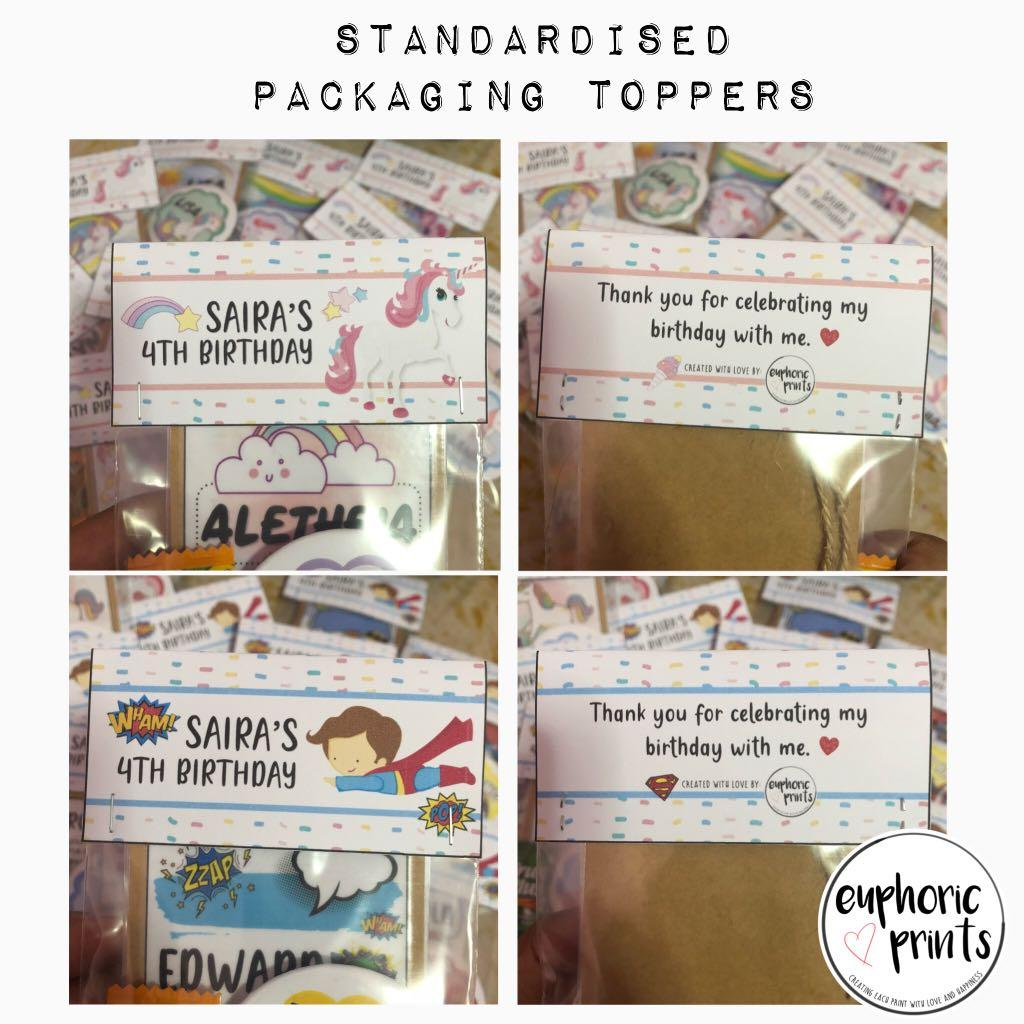 Customised Badge + Bookmark Set