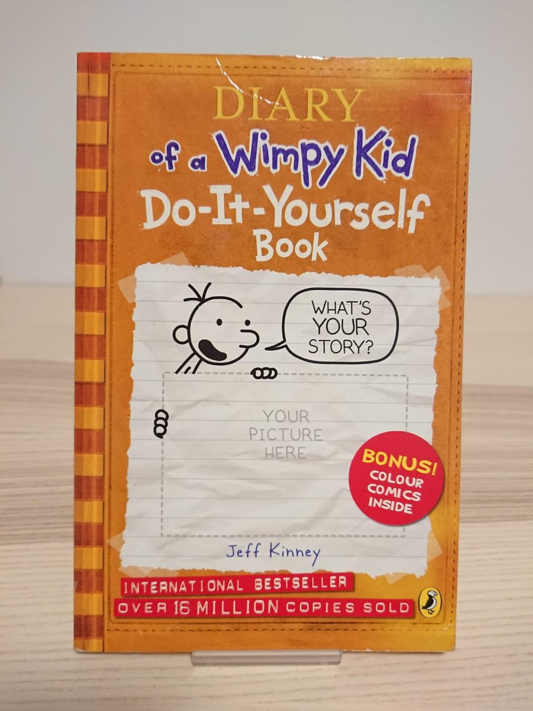 Diary Of A Wimpy Kid Do It Yourself Book Books Stationery Children S Books On Carousell