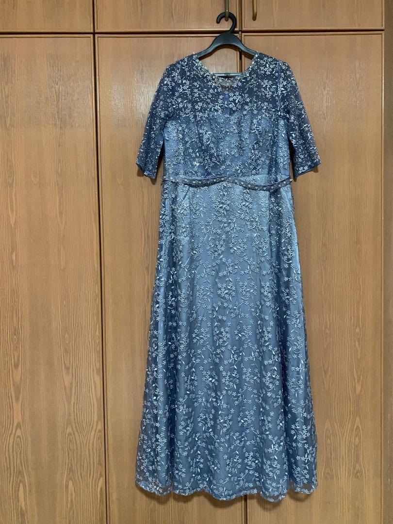 Elegant light blue gown for sale