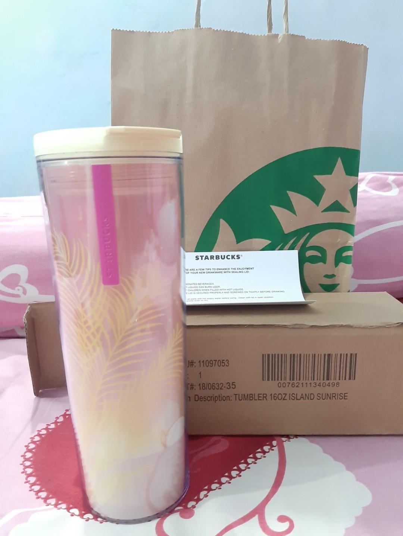 Exclusive Tumbler Starbucks 16 oz