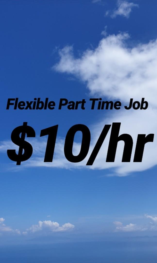 Flexible Part Time Job