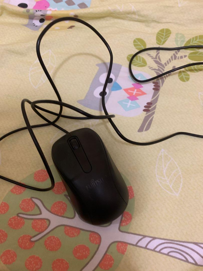 FUJITSU原廠 滑鼠 有缐