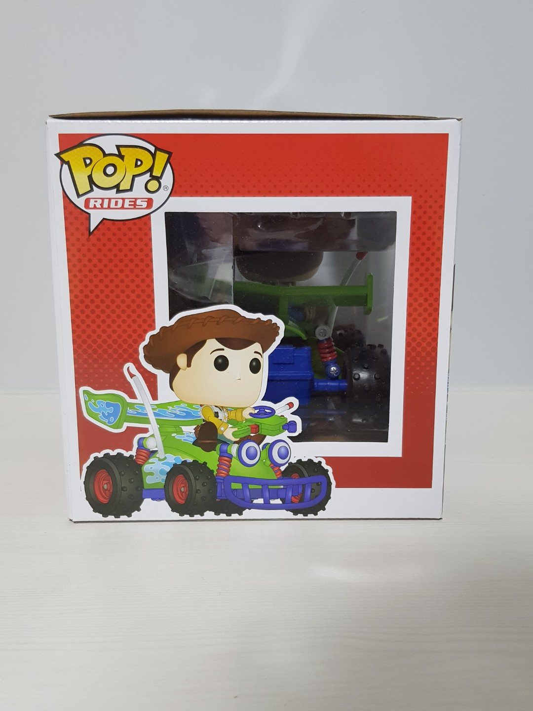 Funko Pop! Rides Disney Toy Story: Woody with RC #56