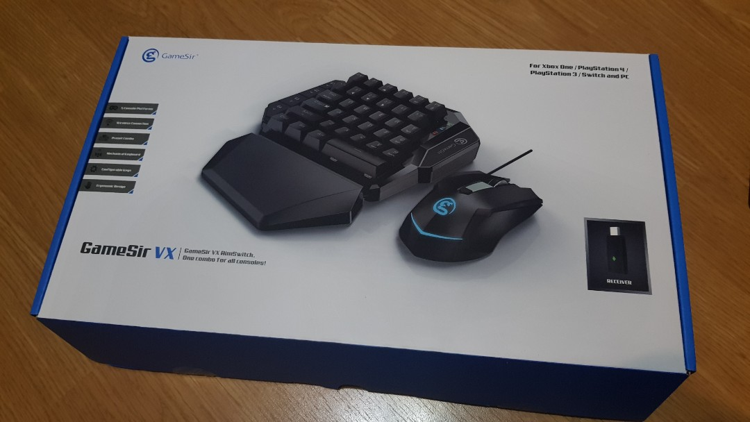 GameSir VX Wireless Keyboard and Mouse Gaming XBox One, Playstation 4, PS4,  PS3, Switch, PC
