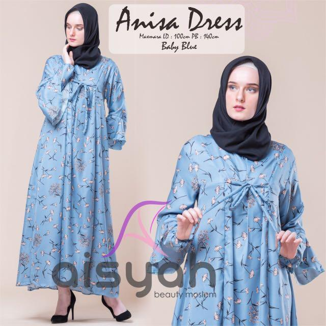 Gamis anisa dress original aisyah