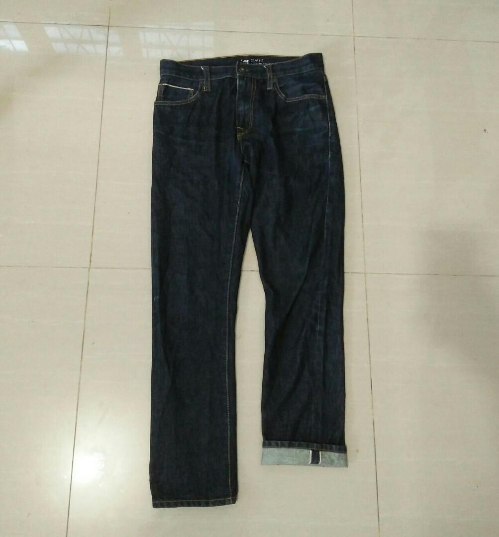 Gap selvedge