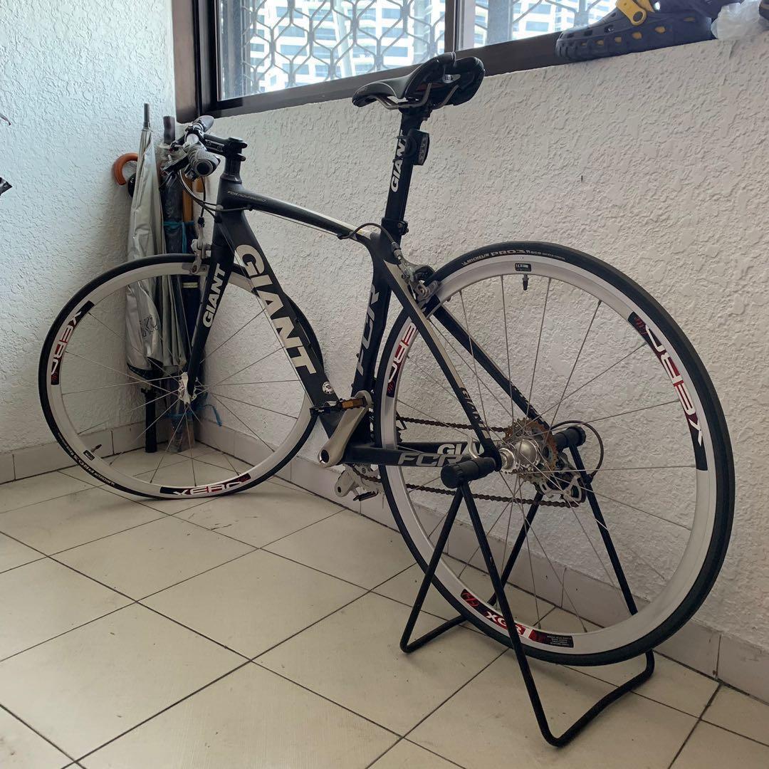 Giant FCR advanced carbon hybrid road bike bicycle