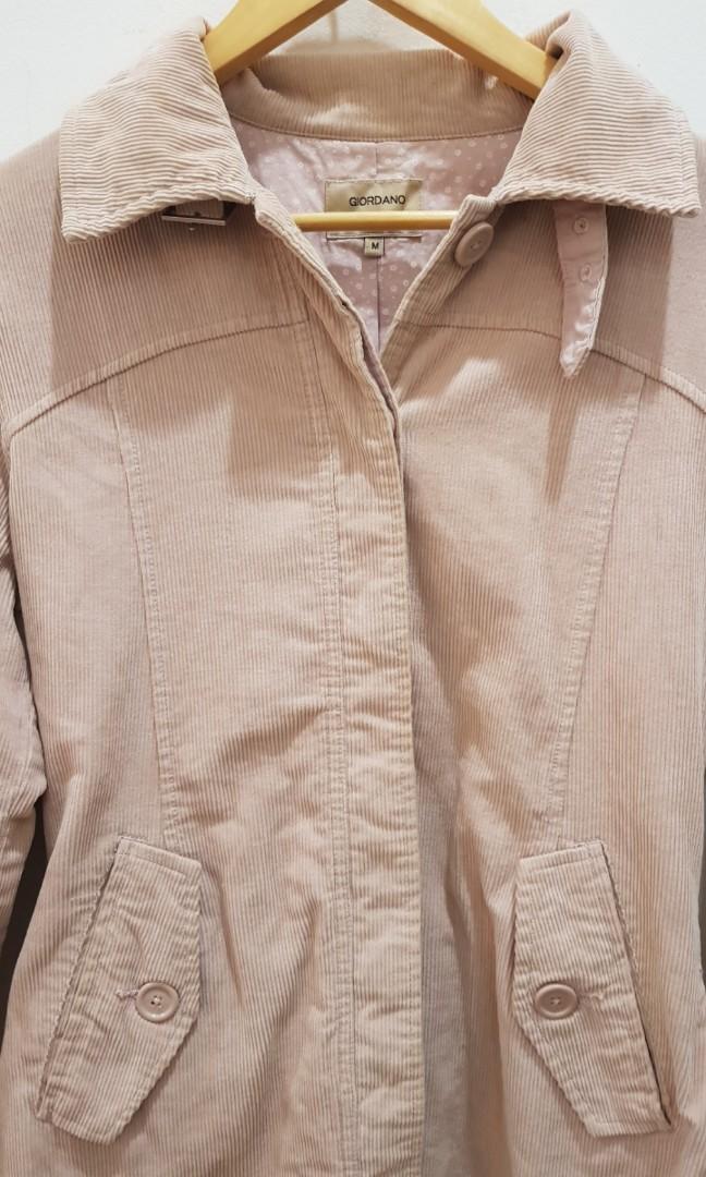 Giordano Pink Coat