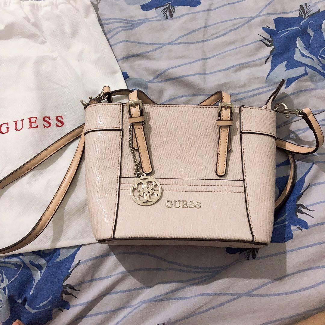 Guess Delany Glossy Soft Pink Mini