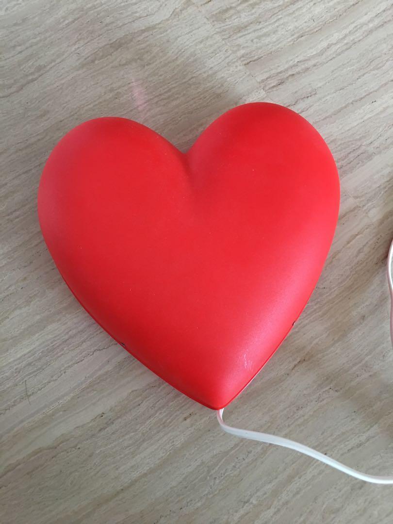Heart shape Wall light