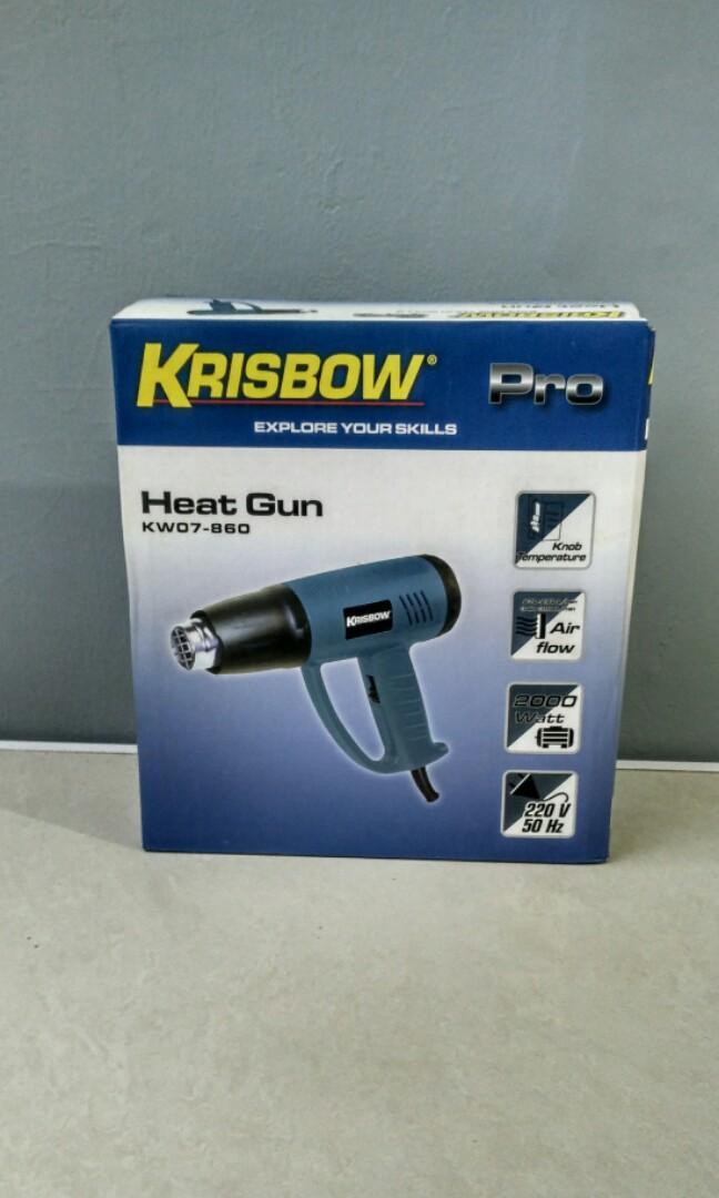 Heat Gun Krisbow KW07 860