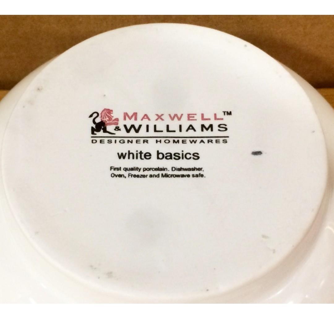 Cheap! MAXWELL & WILLIAMS White Porcelain Mortar & Pestle