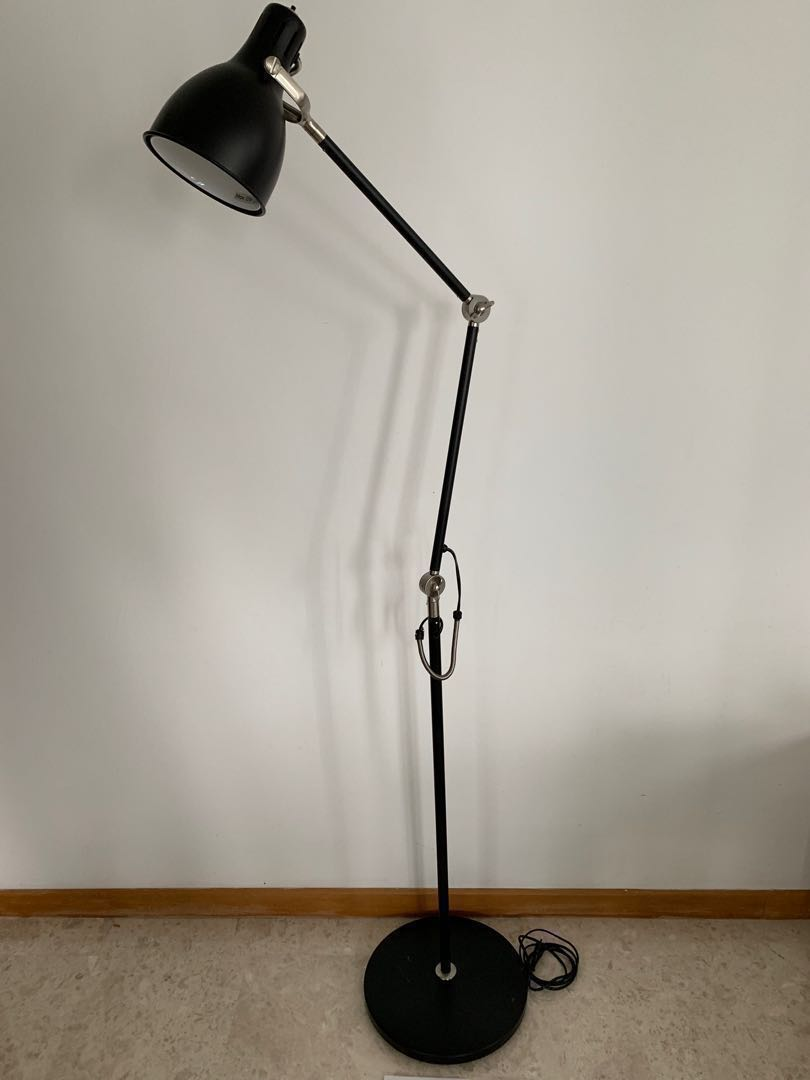 Ikea In Floorreading Arod Lamp Excellent Conditionblack TF1ulJcK3