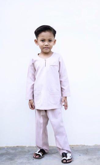*INSTOCK* Adrianna Yariqa Baju Kurung (Boy) Size 1