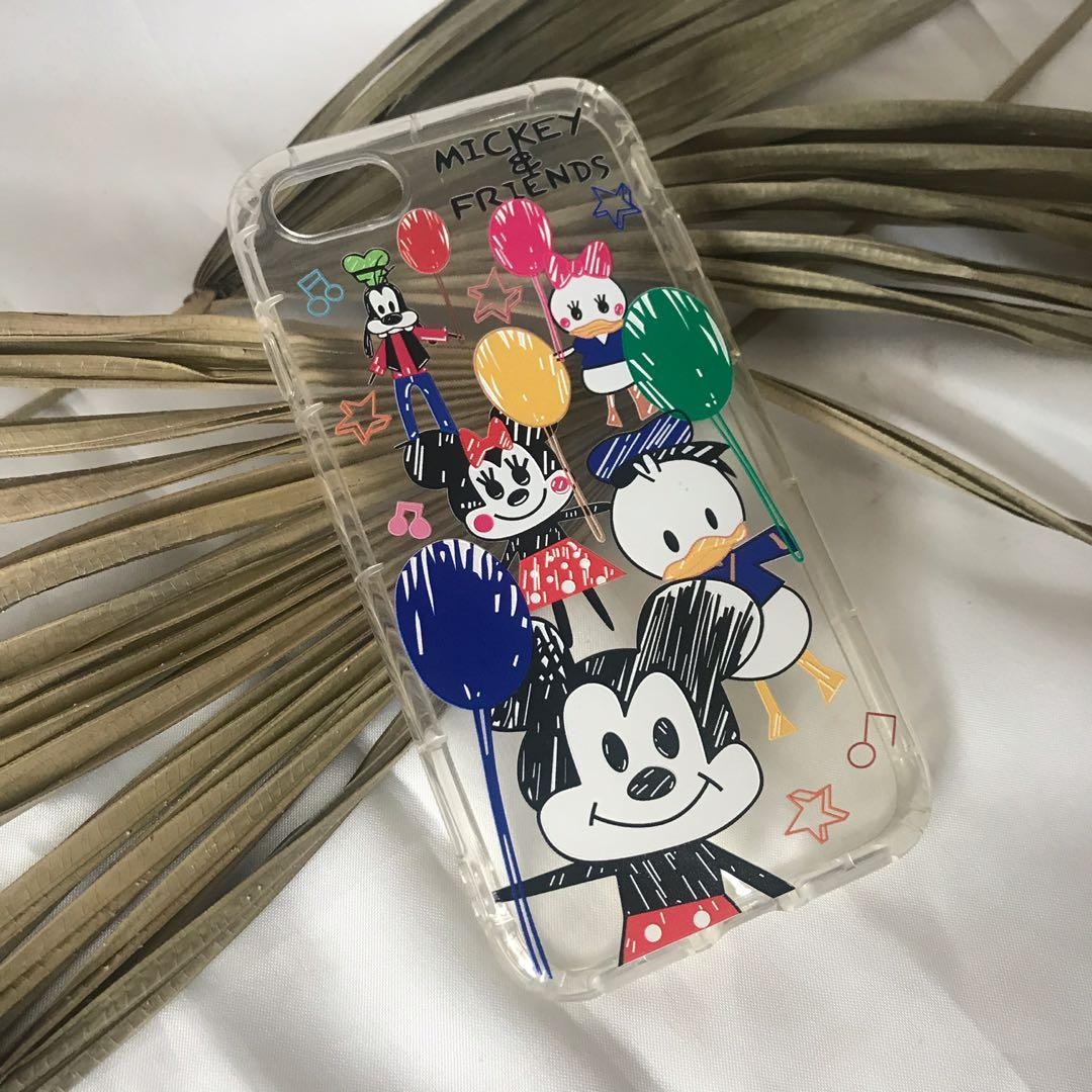 IPHONE 7/8 SILICONE CASE MICKY N FRIENDS