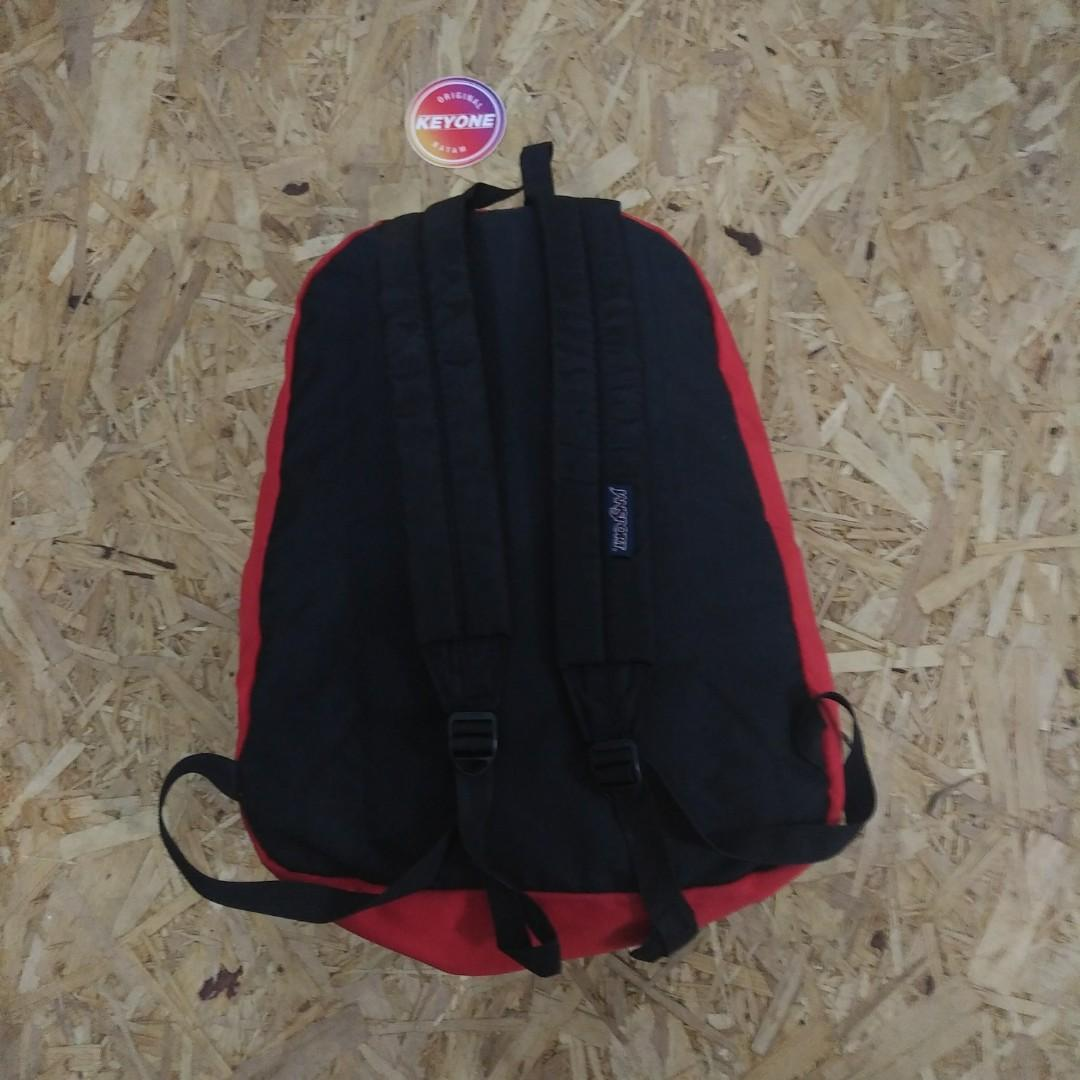 Jansport Superbreak Red Chili Backpack Original