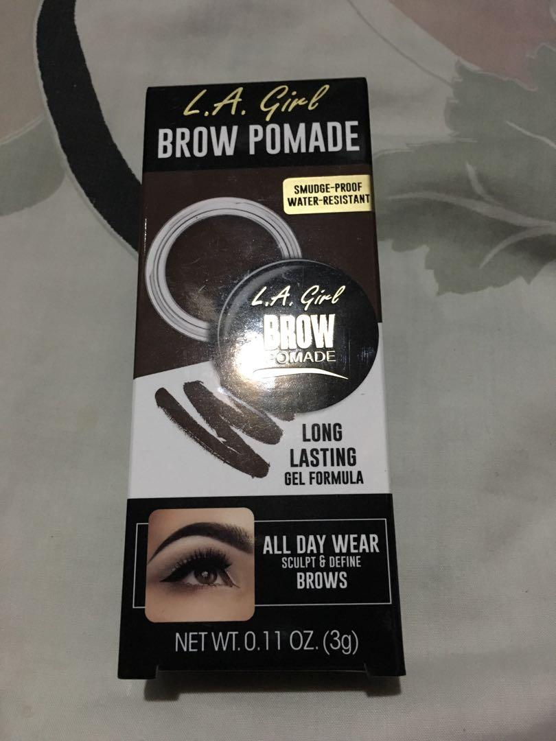 La Girl Brow Pomade In Dark Brown