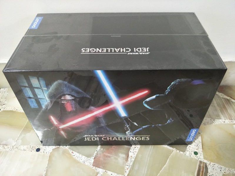 New Lenovo Star Wars Jedi Challenges AR Headset w// Lightsaber Controller In Box