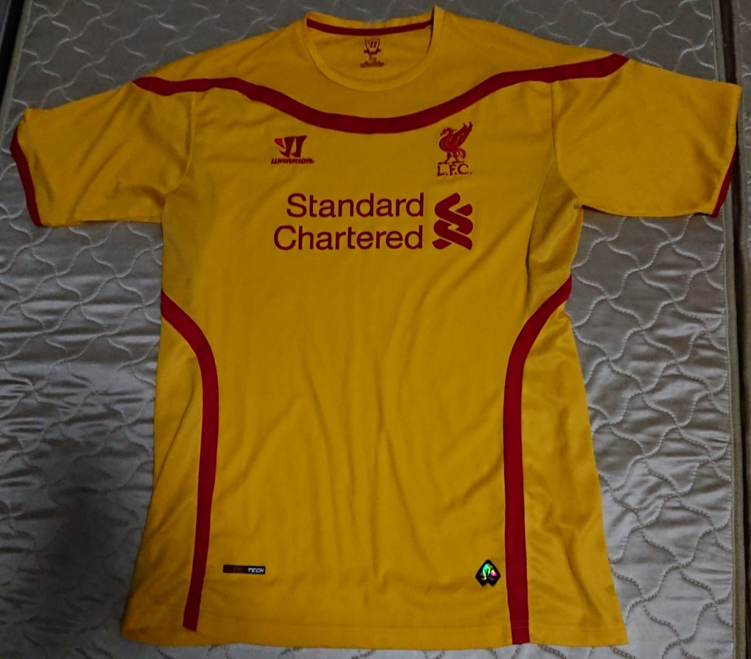 new concept 3252a 836ef Liverpool FC 2014/2015 away jersey #MRTOutramPark
