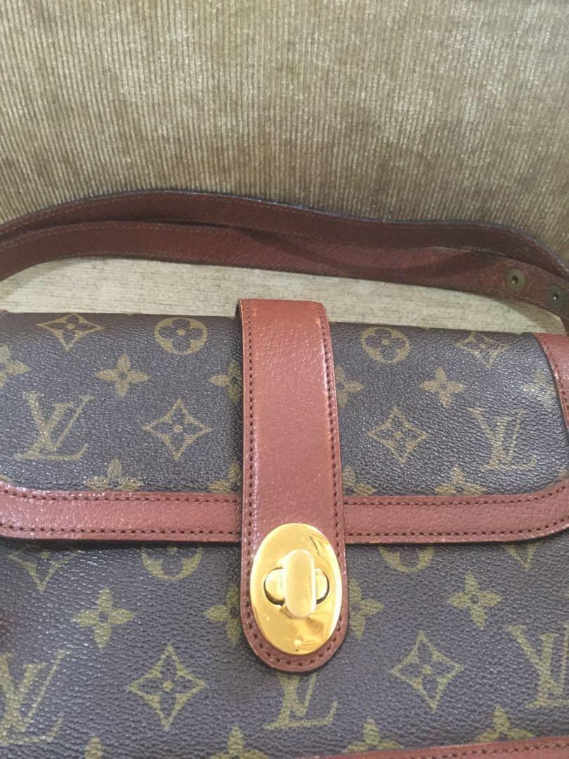 Louis Vuitton Classic Vintage Original Authentic Sale Murah Diskon Discount Preloved Bekas Second Asli Tas Wanita Sling Bag Selempang