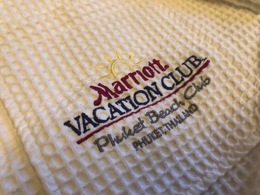 Marriott Phuket Bath Robe (2 for $40)