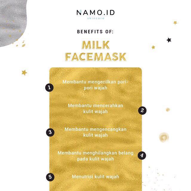 Masker Organik Namo.id