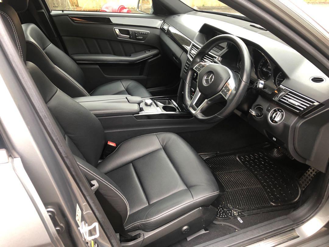 MERCEDES-BENZ E200 AMG 2012