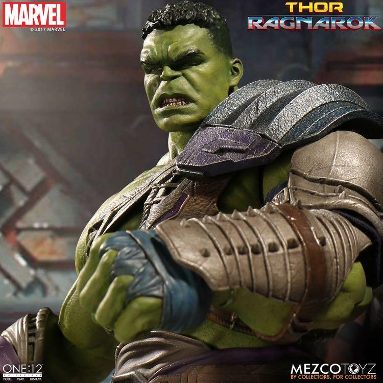 Mezco 2盒 THOR 3 Ragnarok Gladiator Hulk Thor 雷神 變形俠醫 avengers endgame infinity