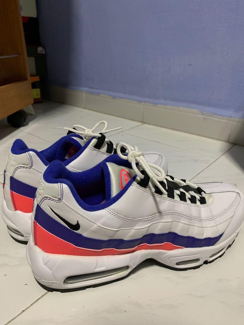 Nike Air Max 95 Essential White/Blue