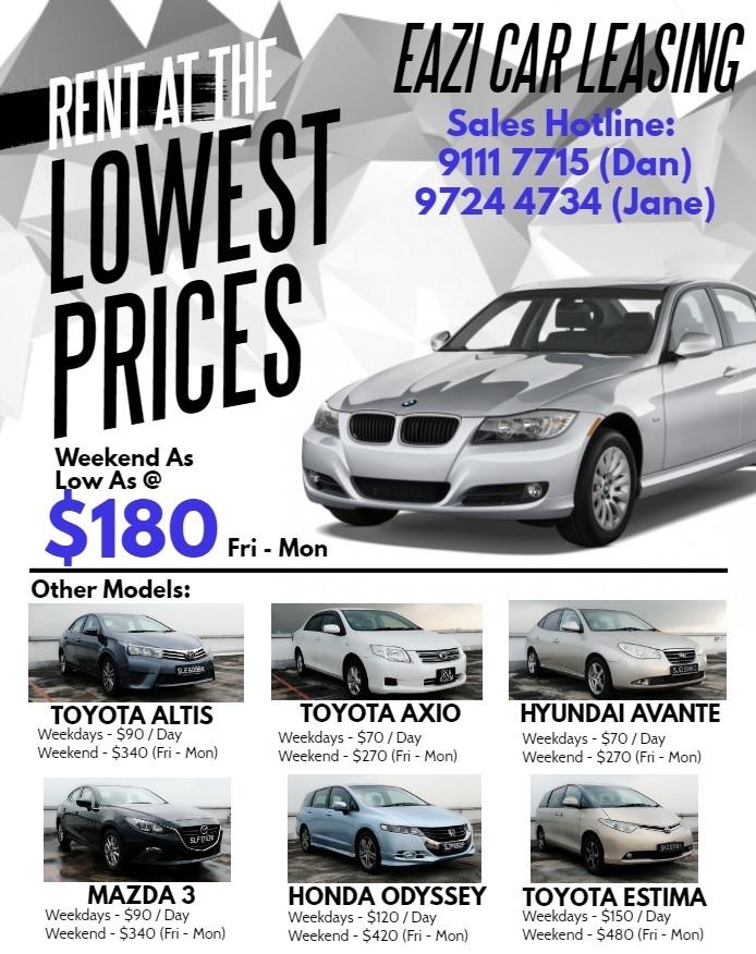 null Cheapest Weekend Car for Rent