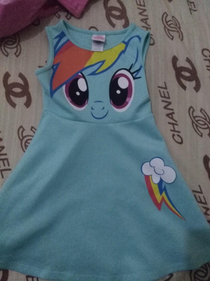 Girls  My Little Pony ~ Rainbow Dash~  T-Shirt Top Age 2years  nwt