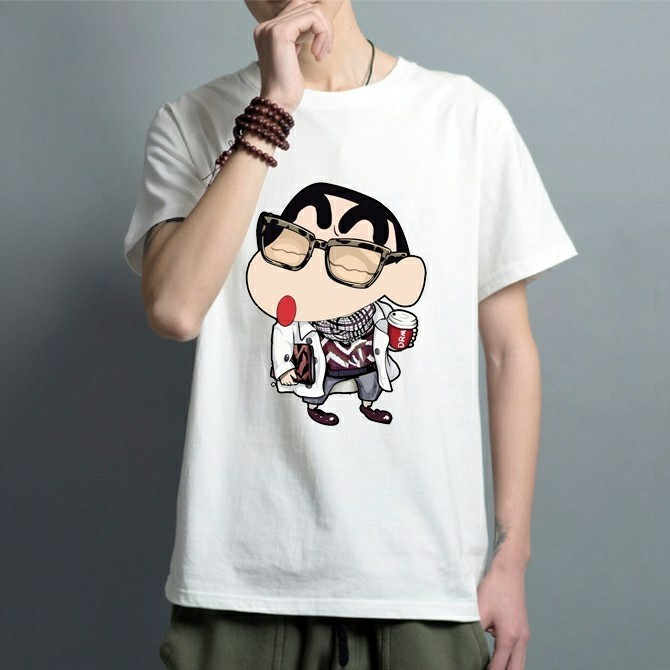 97611b30fb67 (po) crayon shinchan tshirt, Men's Fashion, Clothes, Tops on Carousell