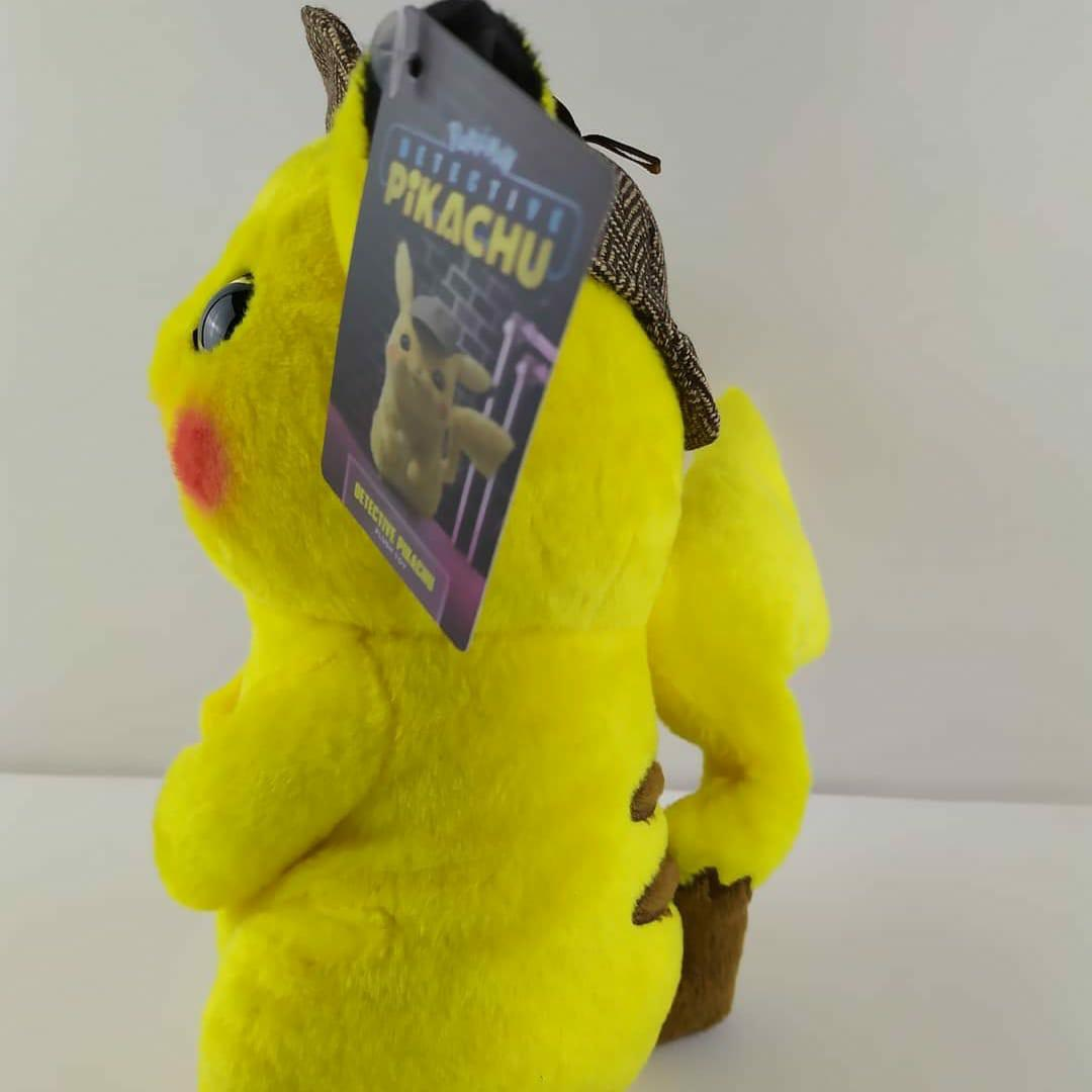 Pokemon 神探比卡超公仔
