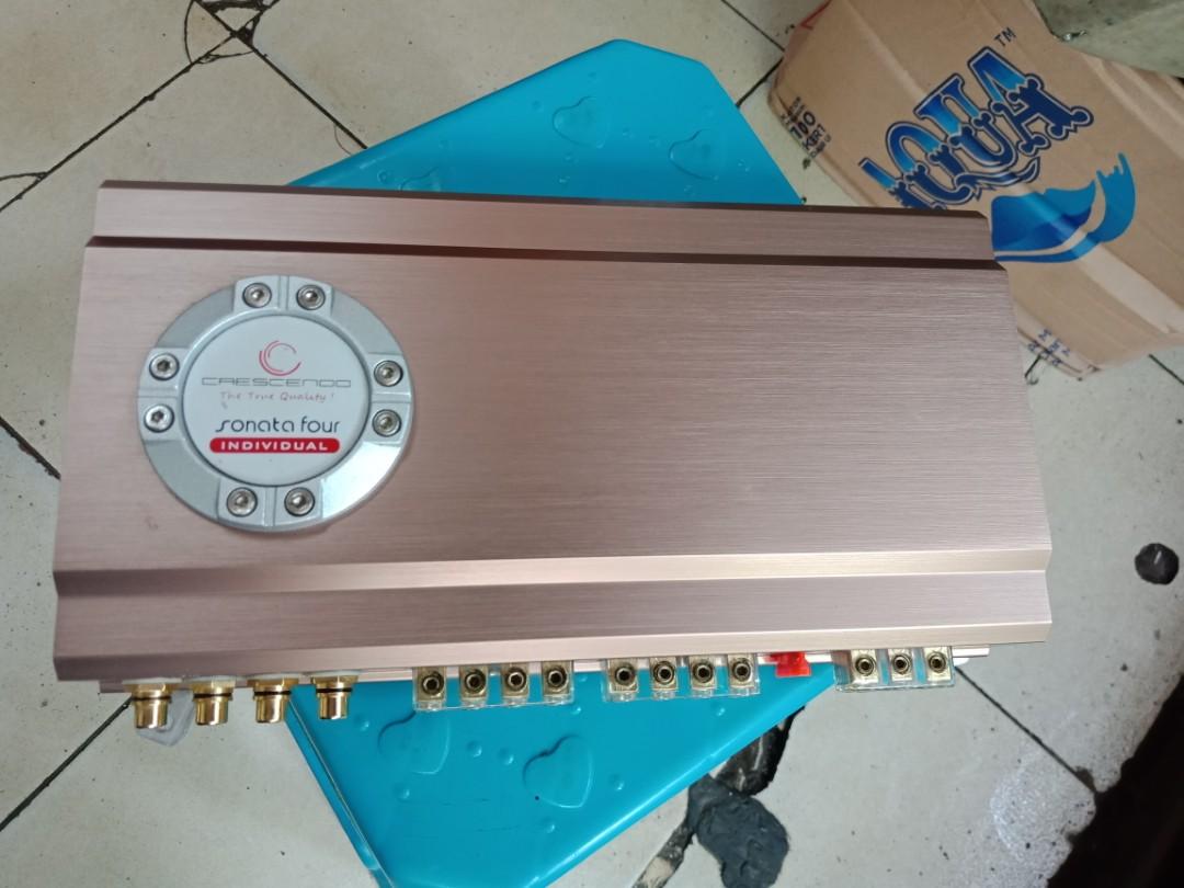 Power Crescendo sonata four individual 4 x 100 watts RMS Amplifier