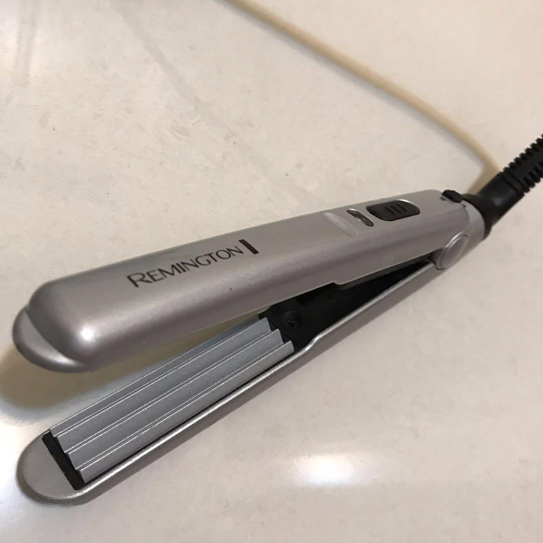 Remington Metal Mini Hair Styler Crimper Heating Iron