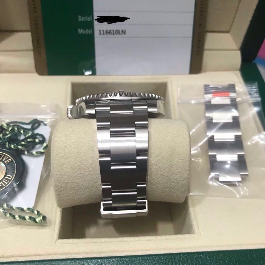 [RESERVED] LNIB Rolex Submariner Date with Stickers 2017 116610LN