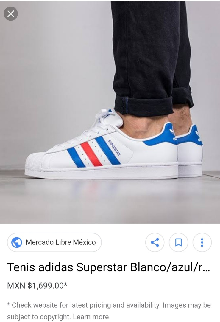 detailed look 95af8 547d1 Sale adidas superstar size 6mens.. can fit 7.5womens, Men s Fashion,  Footwear, Sneakers on Carousell