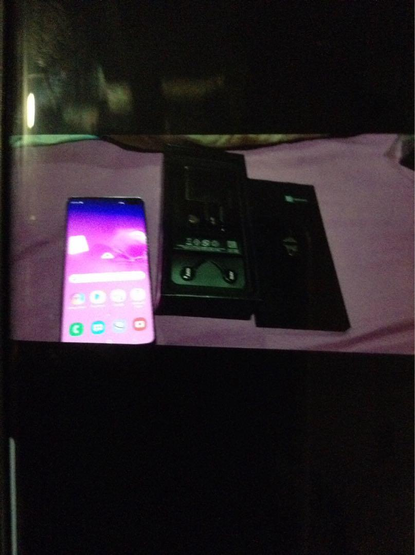 Samsung S10 plus brand new in box for sale!