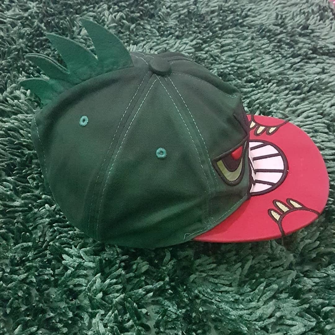 """Snapback """"KC"""" x Green Dino 4-7 th"""